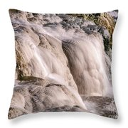 Upper Terrace Closeup Throw Pillow