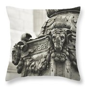 Upper Terrace Throw Pillow