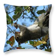 Upside Down Lunch Throw Pillow