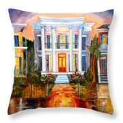 Uptown Tonight Throw Pillow