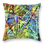 Urban Abstract 115 Throw Pillow
