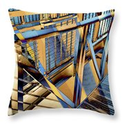 Urban Abstract 179 Throw Pillow