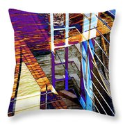 Urban Abstract 224 Throw Pillow