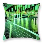Urban Abstract 339 Throw Pillow