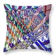 Urban Abstract 352 Throw Pillow