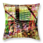 Urban Abstract 369 Throw Pillow