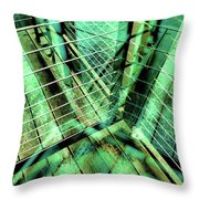 Urban Abstract 405 Throw Pillow
