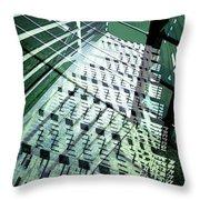 Urban Abstract 442 Throw Pillow