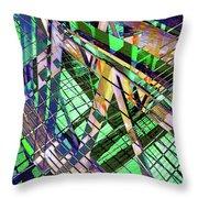 Urban Abstract 500 Throw Pillow