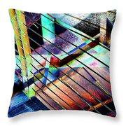 Urban Abstract 53 Throw Pillow