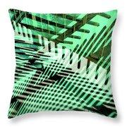 Urban Abstract 561 Throw Pillow