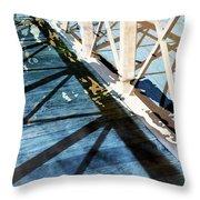 Urban Abstract 706 Throw Pillow