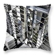 Urban Abstract 94 Throw Pillow