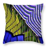 Urban Abstract Throw Pillow