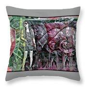 Urban Abstract,pop Art Throw Pillow