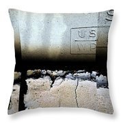 Urban Abstracts Seeing Double 19 Throw Pillow