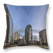 Urban Architecture Throw Pillow