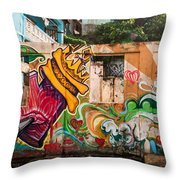 Urban Art 1 Throw Pillow