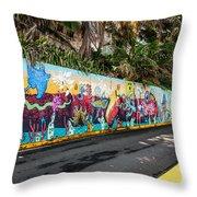 Urban Art 3 Throw Pillow