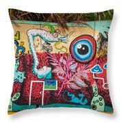 Urban Art 5 Throw Pillow