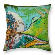 Urban Art 6 Throw Pillow