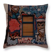 Urban Art Throw Pillow