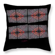 Urban Break-up Throw Pillow