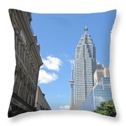 Urban Canyon Throw Pillow