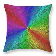 Urban Colorful Throw Pillow