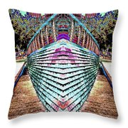 Urban Confluence Throw Pillow