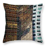 Urban Contrast Throw Pillow