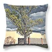 Urban Cottonwood Throw Pillow