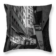 Urban Darkness Throw Pillow