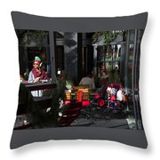 Urban Elf Throw Pillow