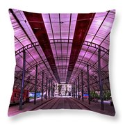 Urban Express Throw Pillow