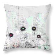 Urban Garden 2 Throw Pillow