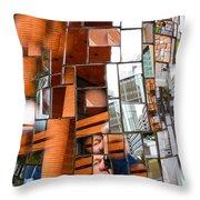 Urban Geometry 1 Throw Pillow