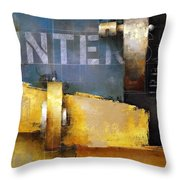 15.020 - Urban Intersection Throw Pillow