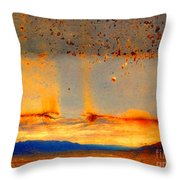 Urban Landscapes Throw Pillow