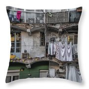 Urban Life Throw Pillow