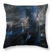Urban Lights Throw Pillow