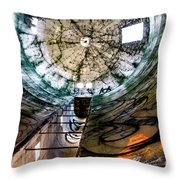 Urban Meets Rural Throw Pillow