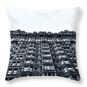 Urban Mountain Throw Pillow