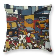 Urban Music I V Throw Pillow