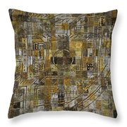 Urban Mystic 4 Throw Pillow