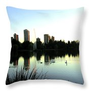 Urban Paradise Throw Pillow