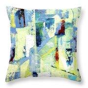 Urban Patterns 1 Throw Pillow