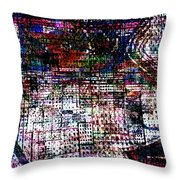 Urban Primitif Throw Pillow