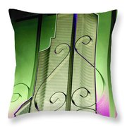Urban Reflection 2 Throw Pillow