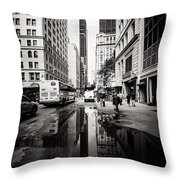 Urban Reflections Throw Pillow